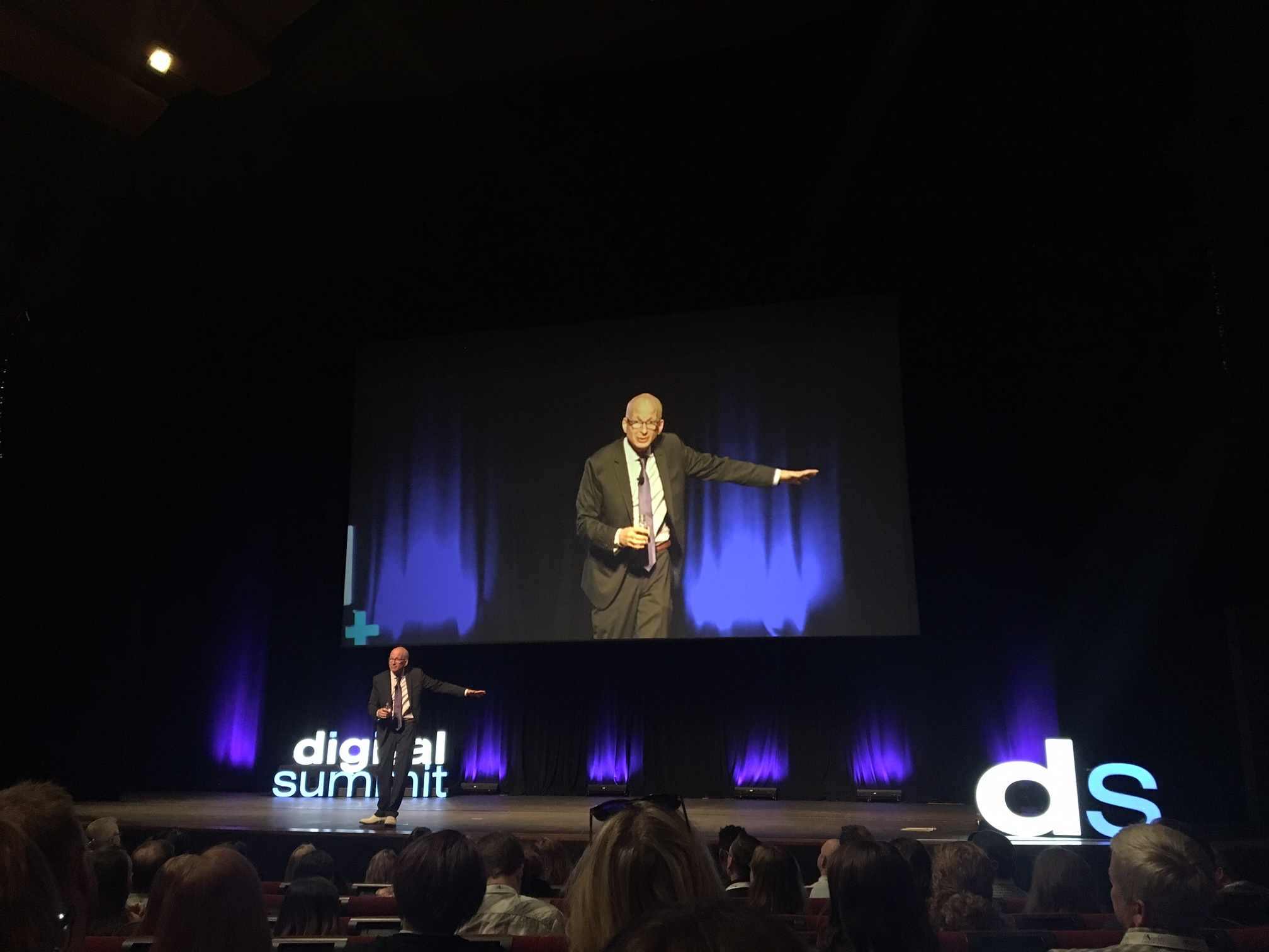 People like us do things like [attend nerdy marketing conferences and listen to awesome presentations by Seth Godin]
