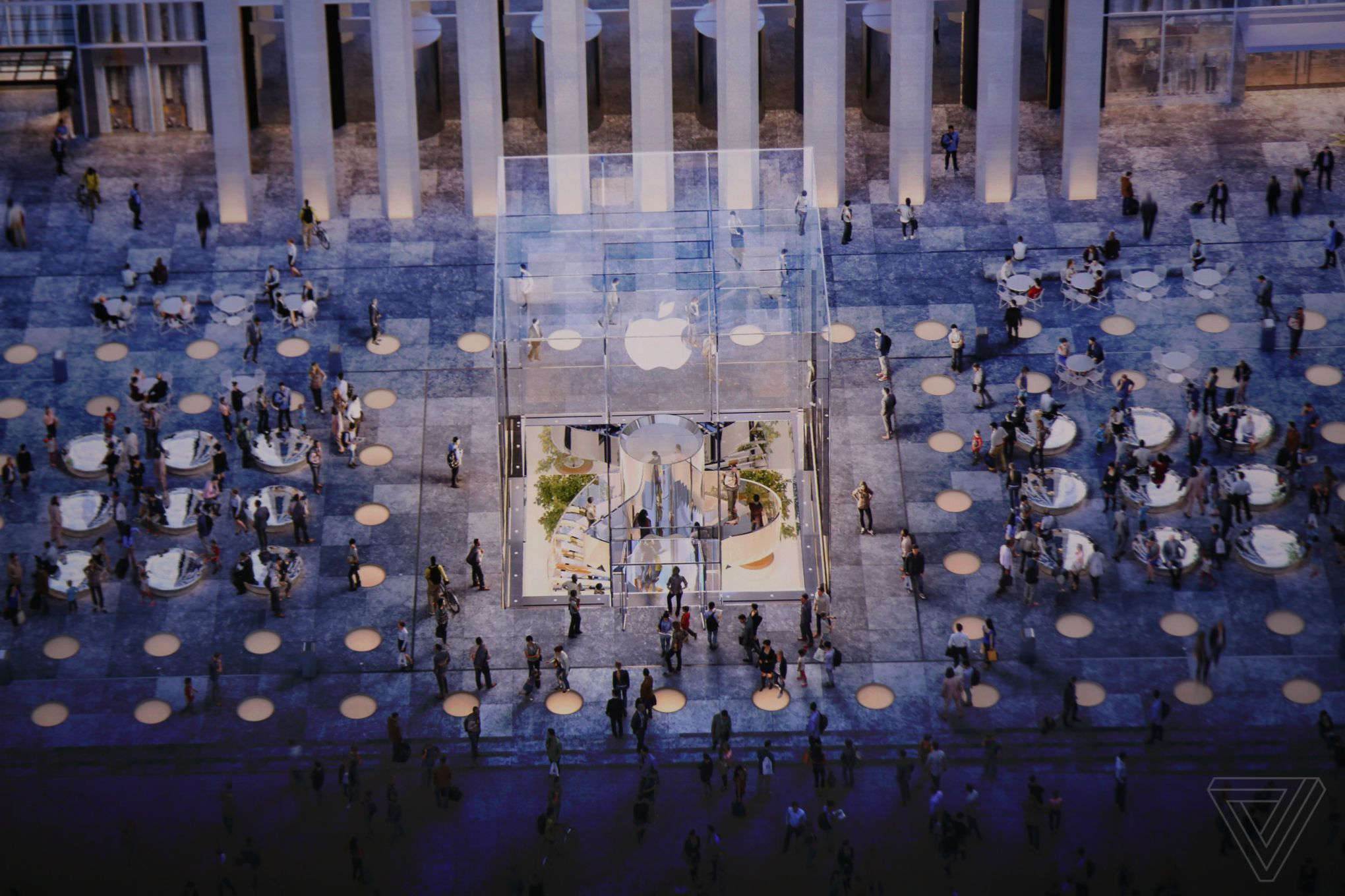 Apple Town Square in New York City will be designed.