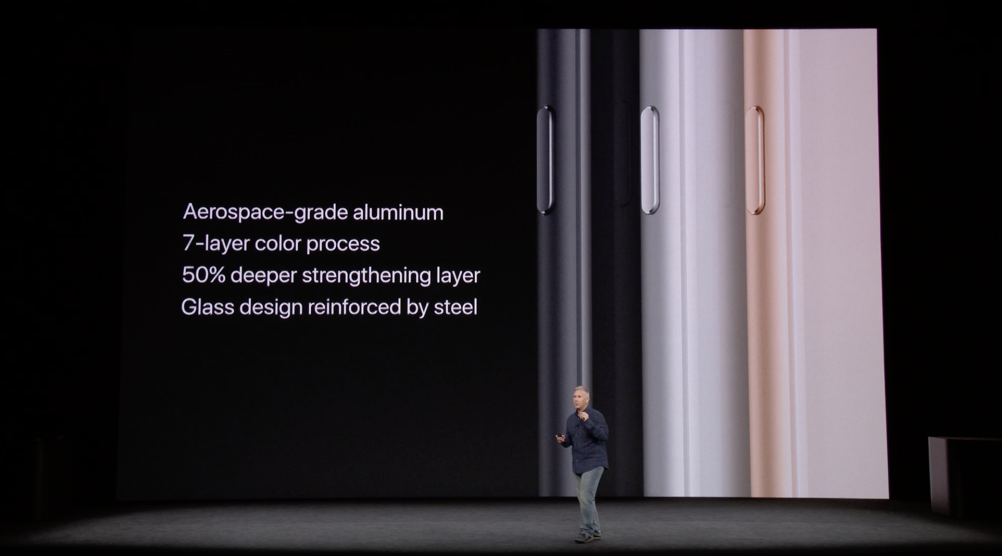 Materials and features used to make the new iPhone 8