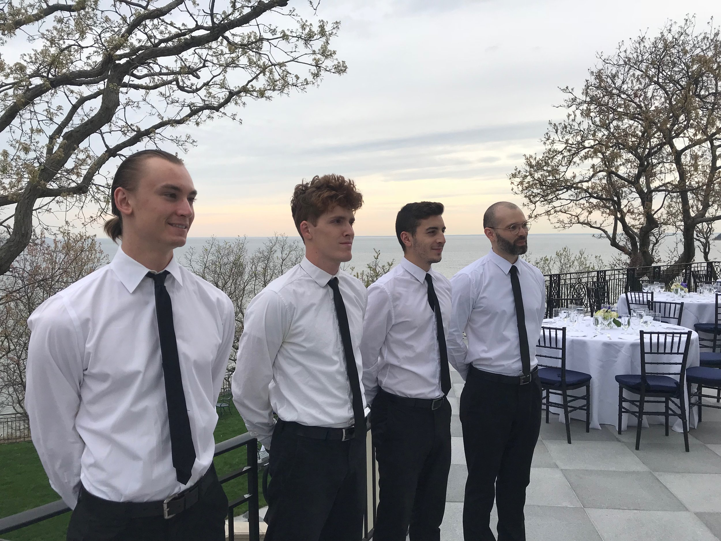 NYC event staffing