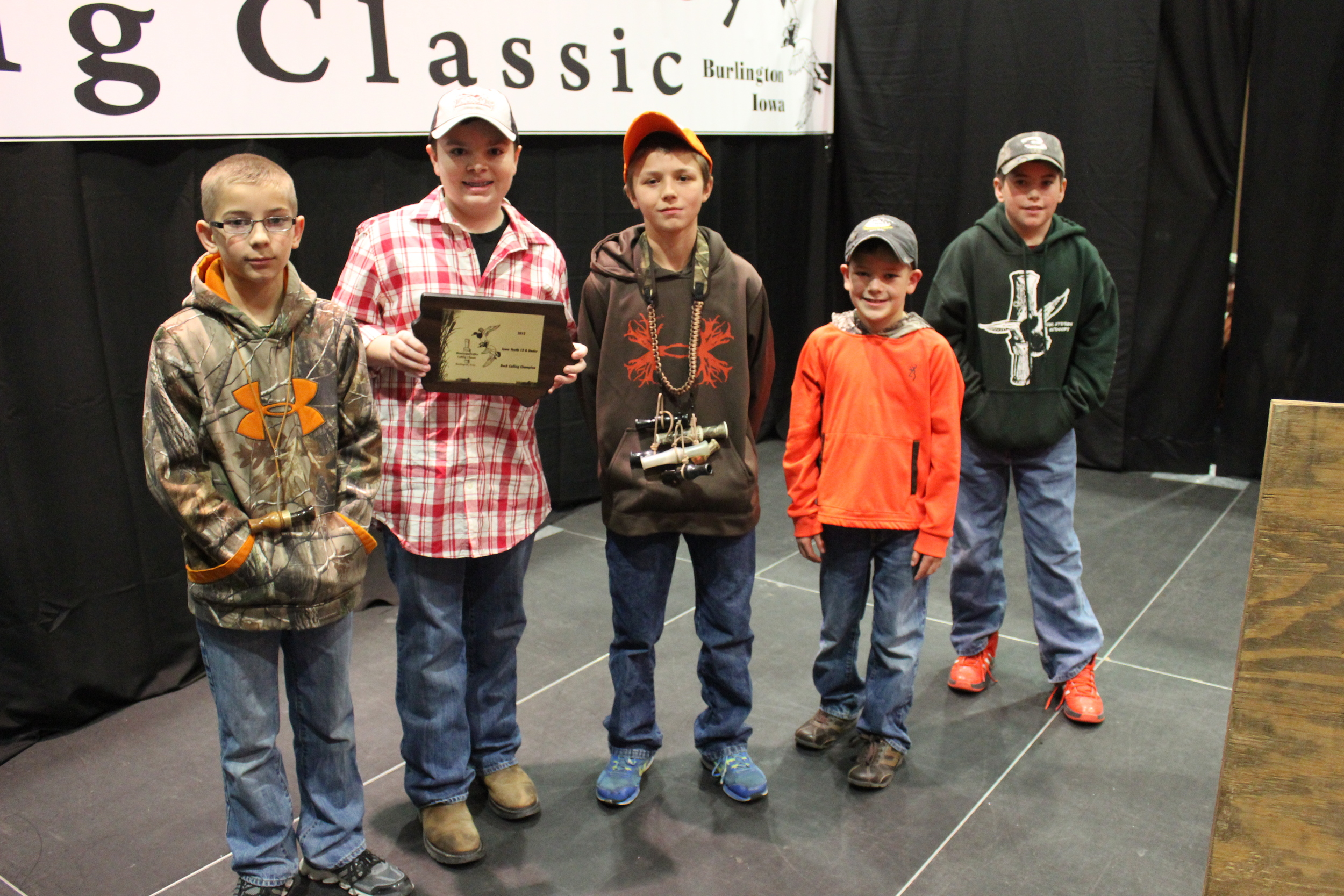 2015 Mississippi Valley Youth Duck Calling Contest :: Junior Division :: Top 5