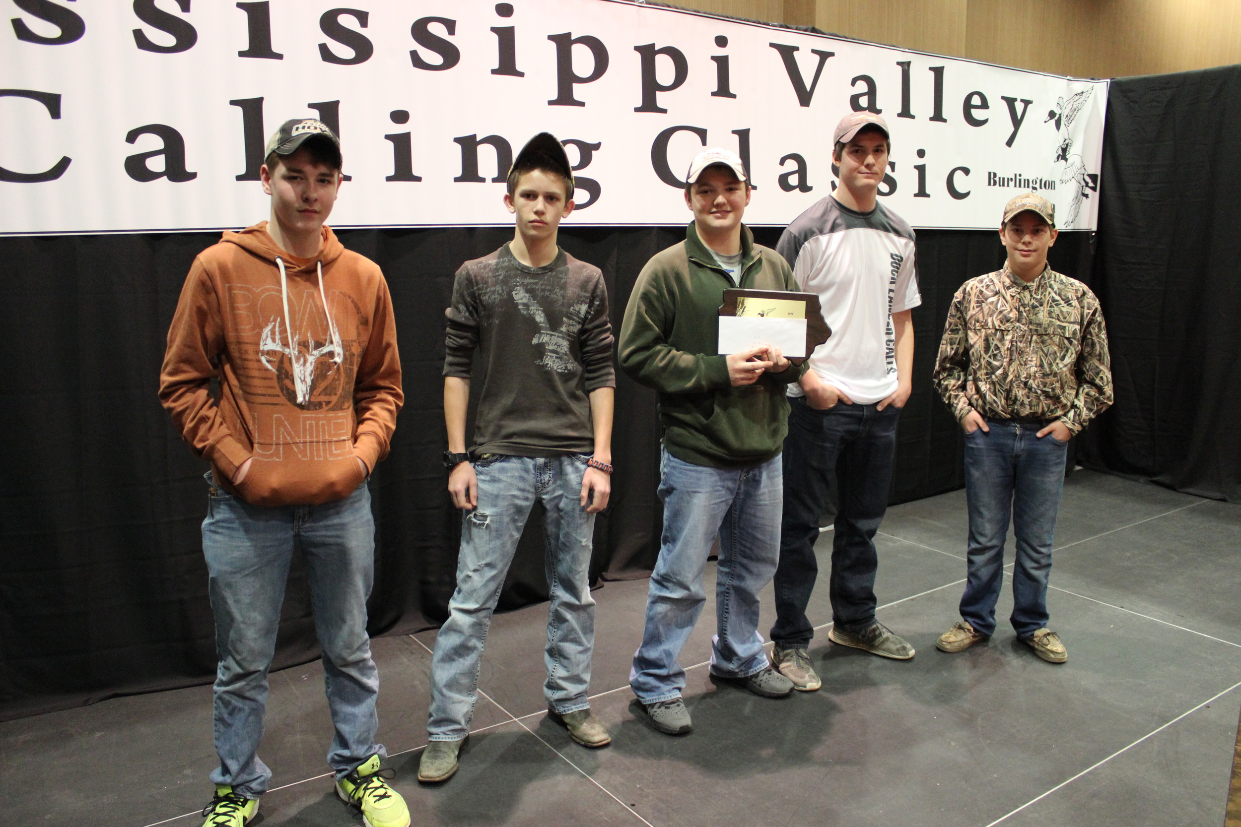 2015 Mississippi Valley Youth Duck Calling Contest :: Intermediate Division :: Top 5