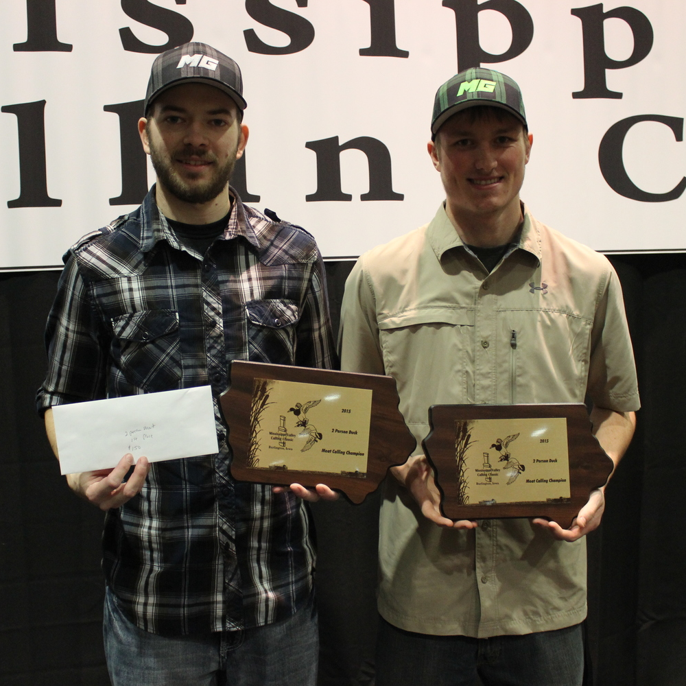 2015 2 Person Meat Duck Calling Champions :: Mike Benjamin & Robbie Brink