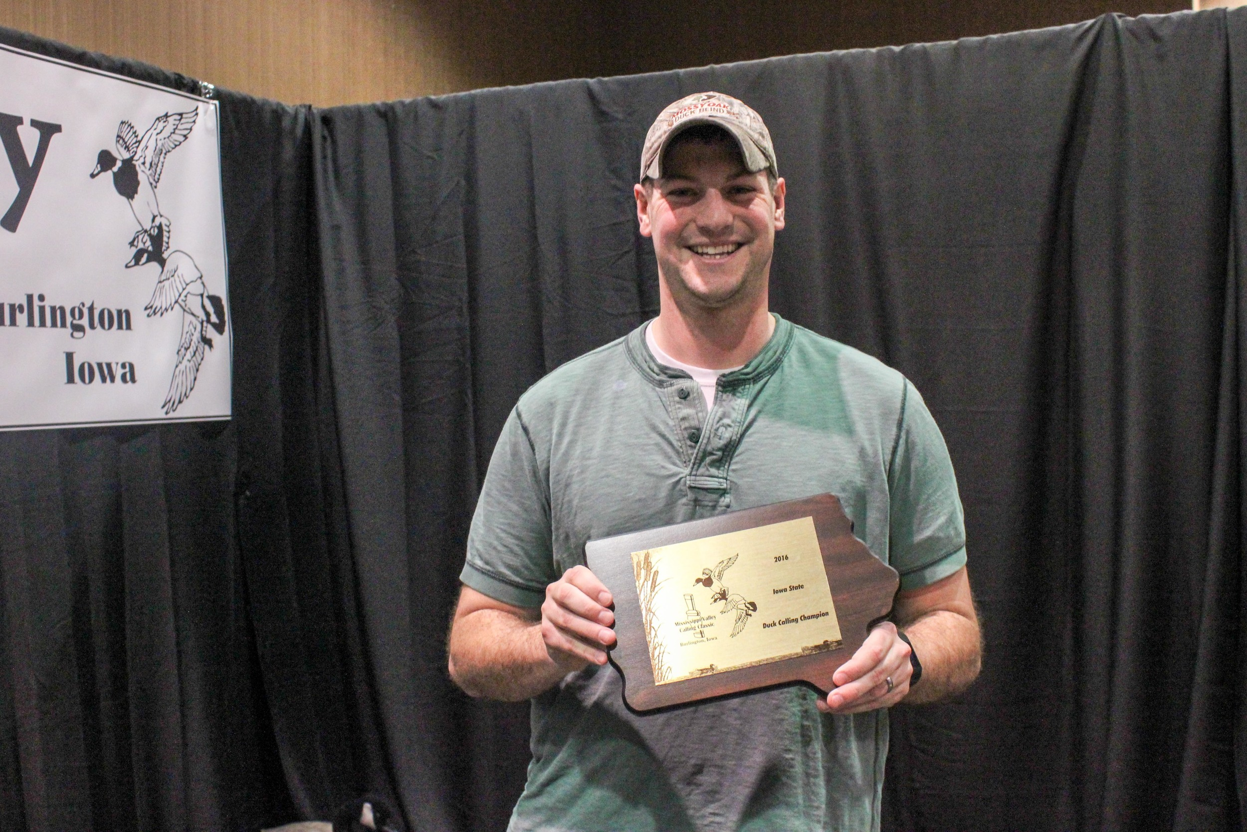 Mitch Larson: 2016 Iowa State Duck Calling Champion
