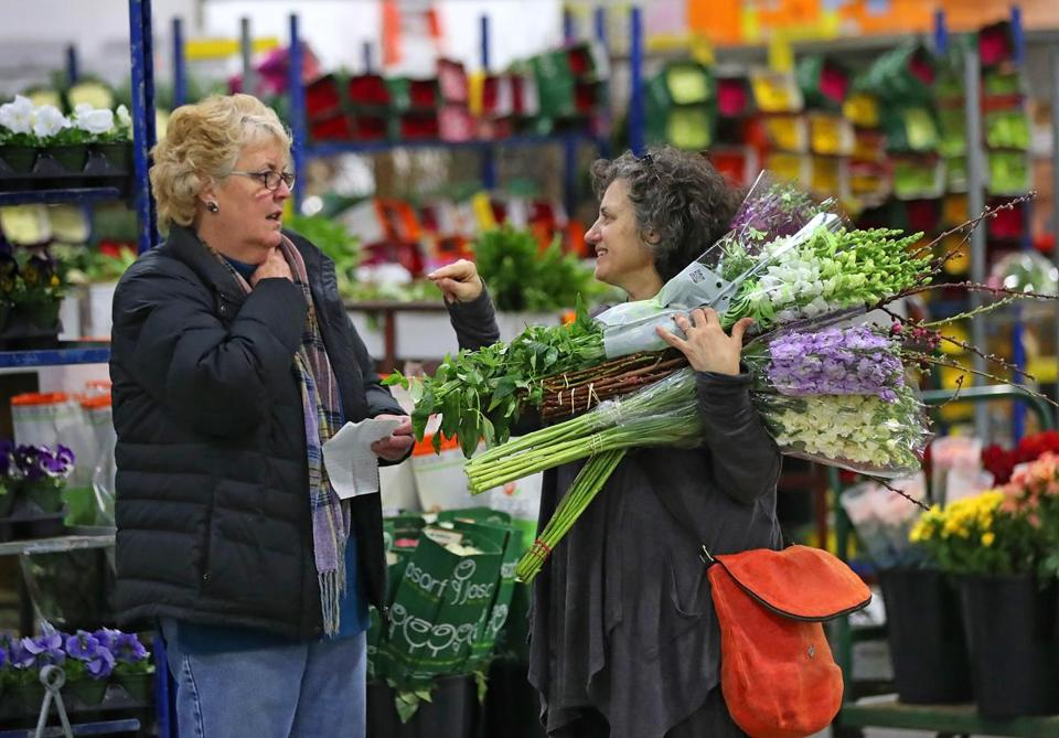 Boston Flower Market Makes Its Move