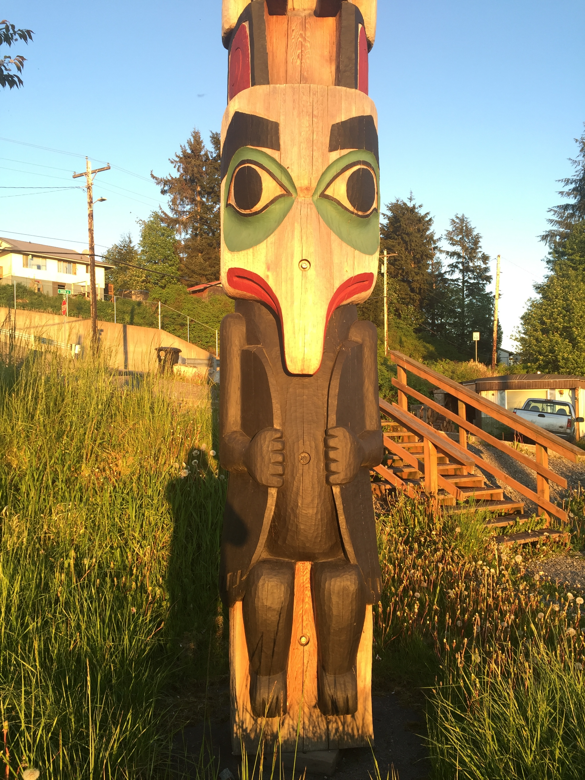 Totems - huge part of Native culture
