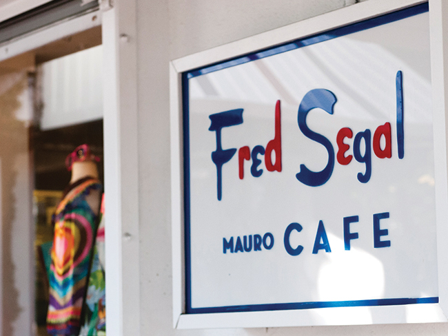 Fred Segal Mauros Cafe