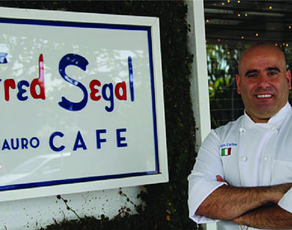 Chef Sergio Corbia