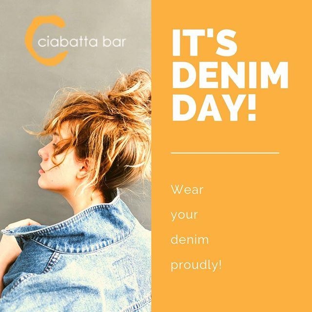 "Wear denim for a good cause. #DenimDay ""On April 24, 2019, millions of people across the world will wear jeans with a purpose, support survivors, and educate themselves and others about all forms of sexual violence."" - (source; denimday website) . . . . #support #suvivors #weardenim"