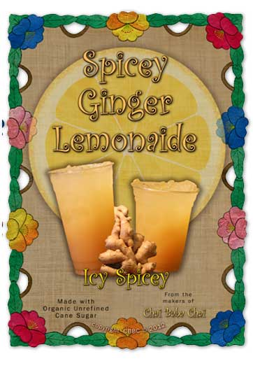 Chai BaBa Spicy Ginger Lemonade