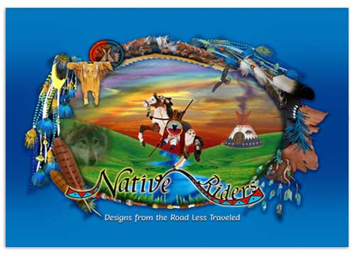 Native Riders, Outdoor Banner