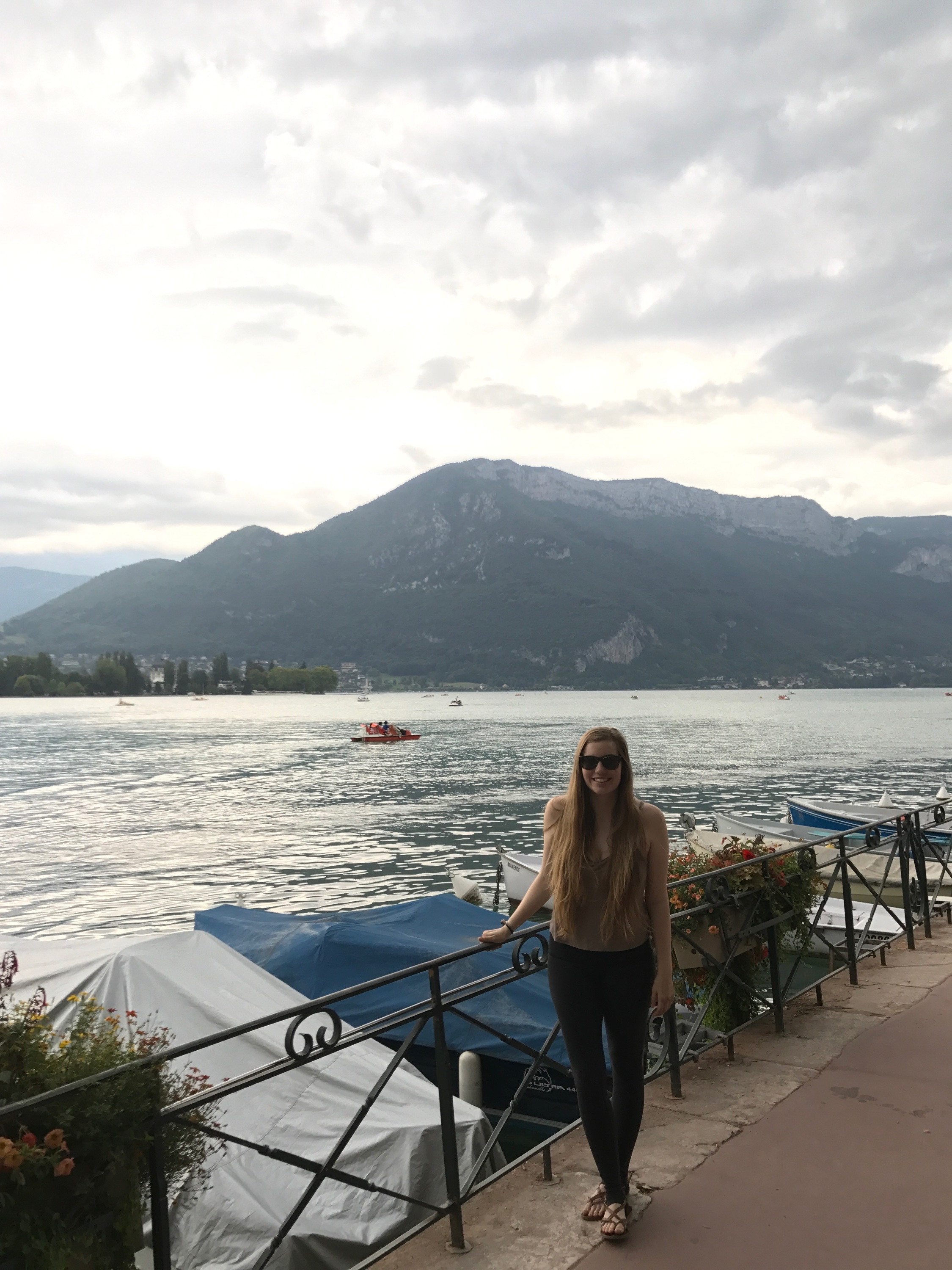 Annecy, France at the base of the Alps.JPG