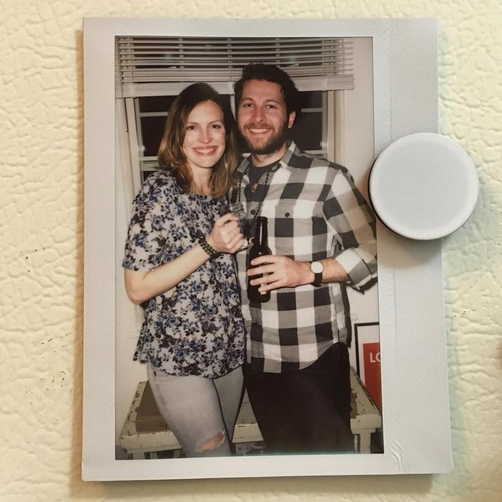 Melissa and Graham at their engagement party!