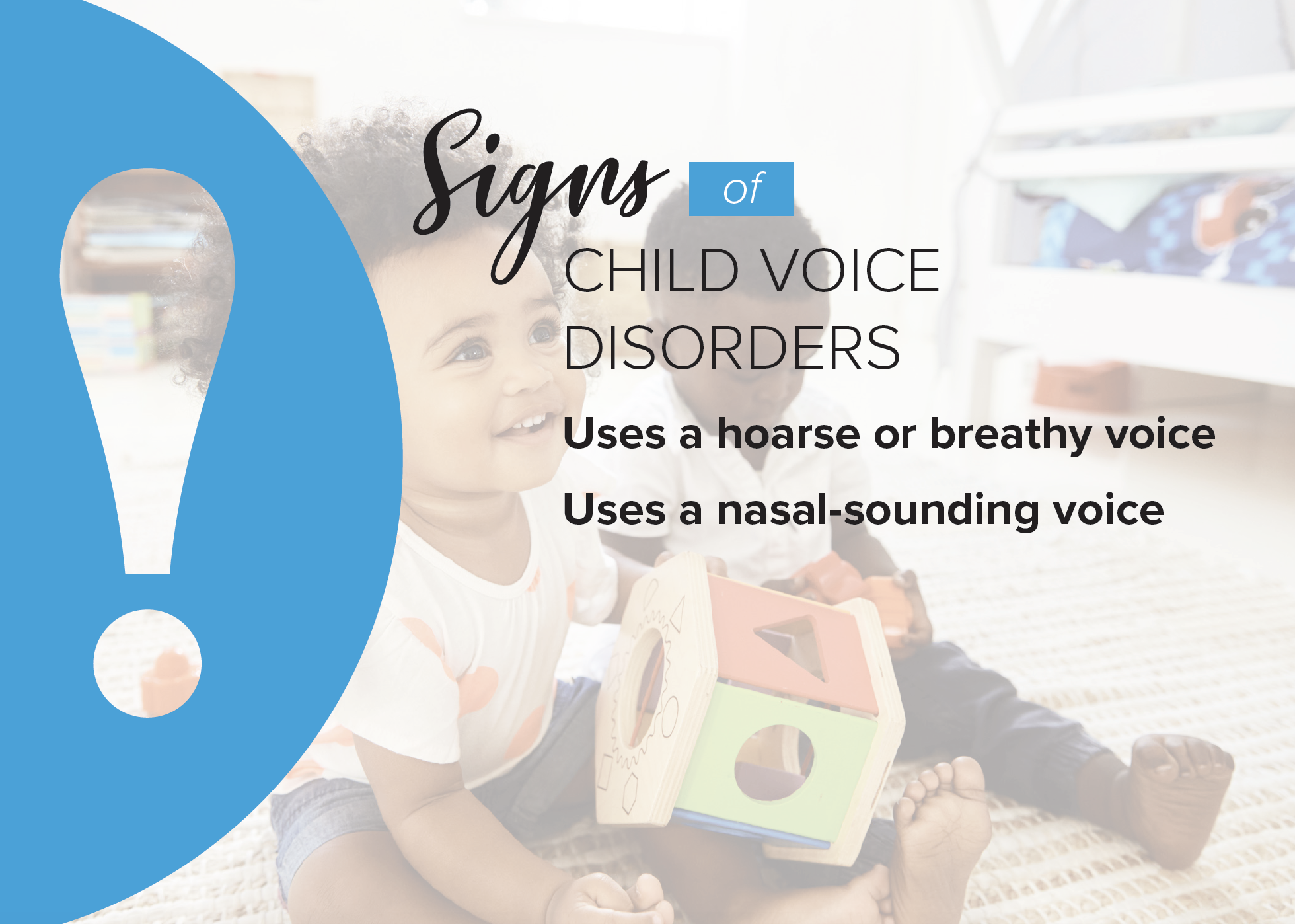 Child Voice Disorders