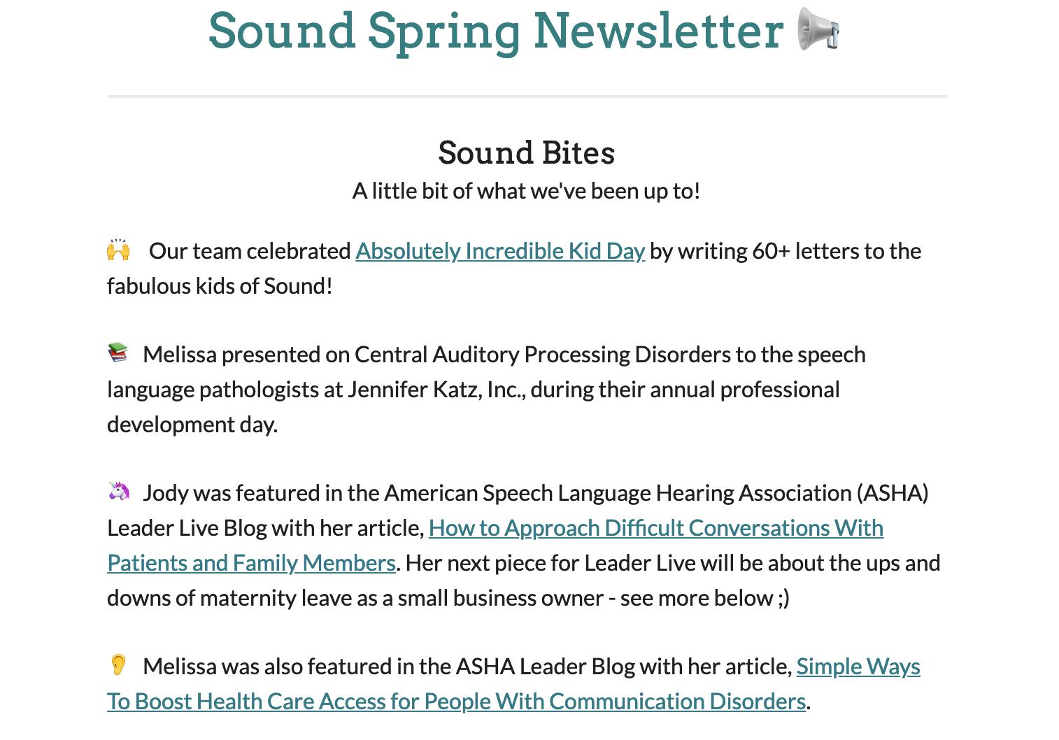 Sound_Newsletter