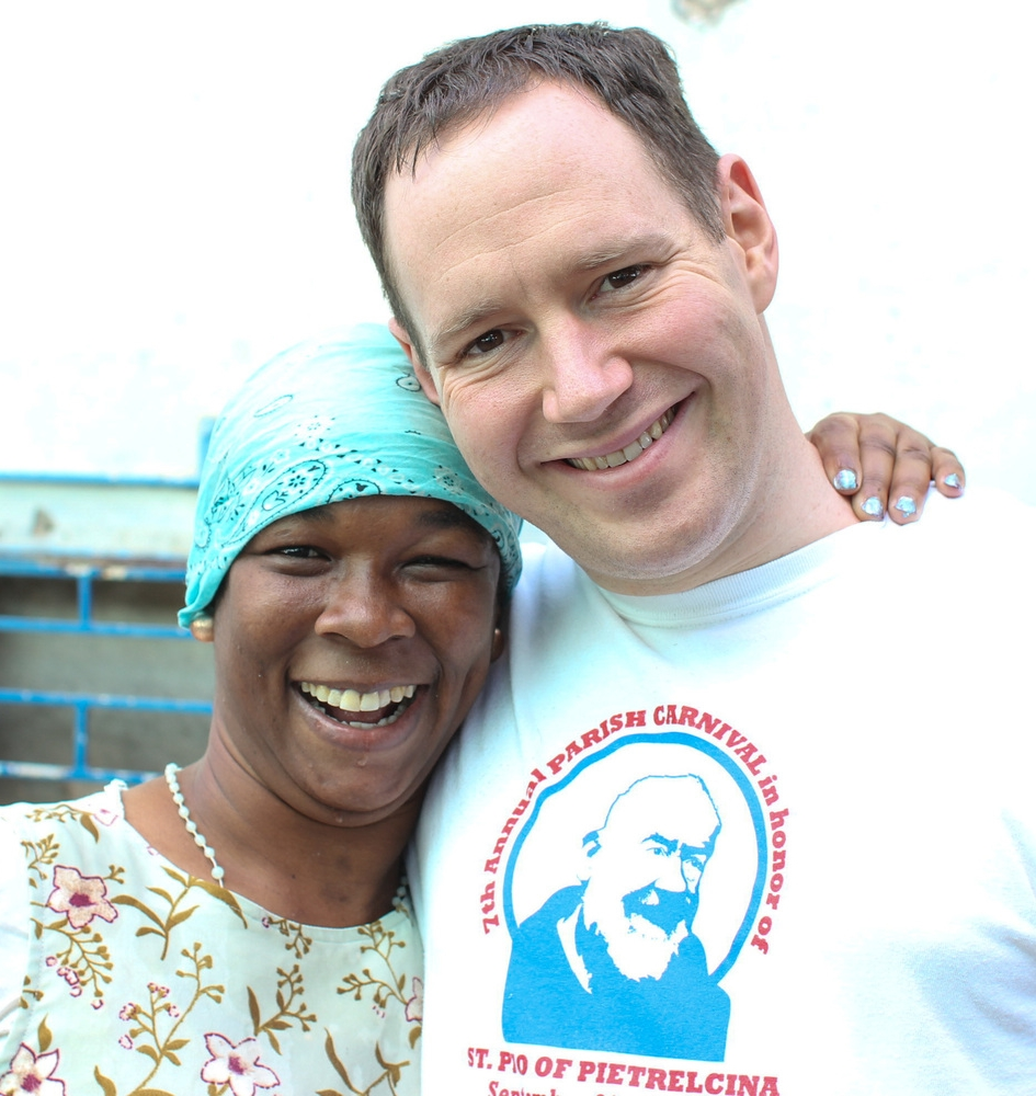 Me and Sophia, one of the residents at Jacob's well. She had one of the most infectious smiles I've ever seen.