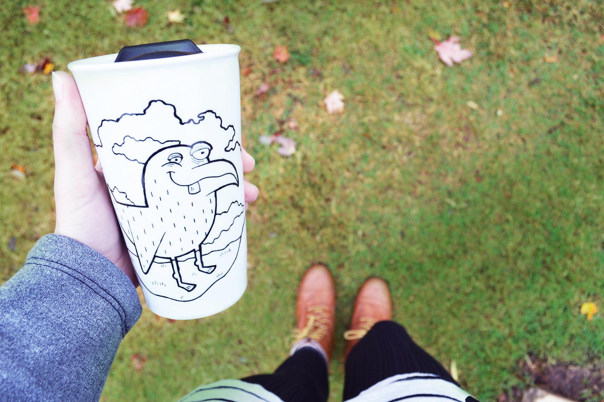 Bird Stuff Travel Mug