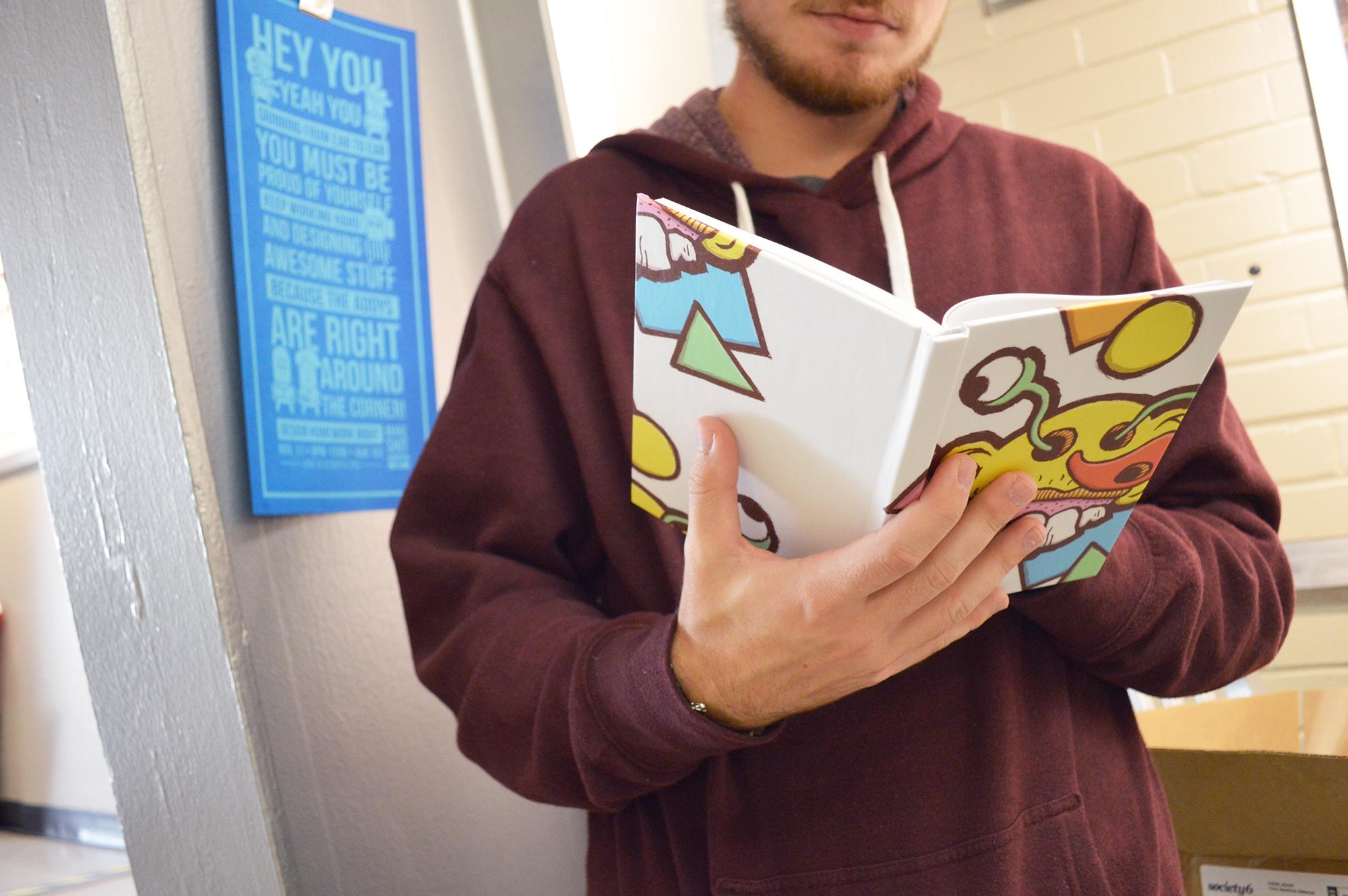 Burstin' Hardcover Journal