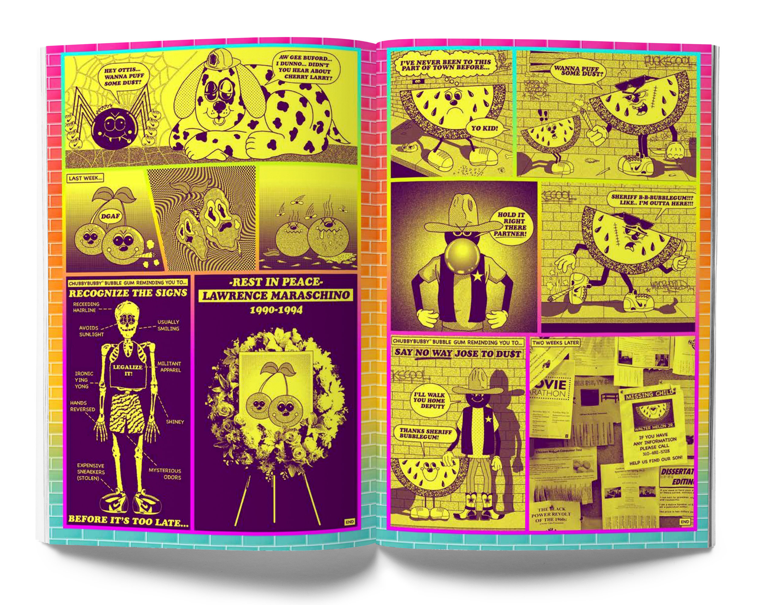 Josh Freydkis     for Universal Slime Issue #4