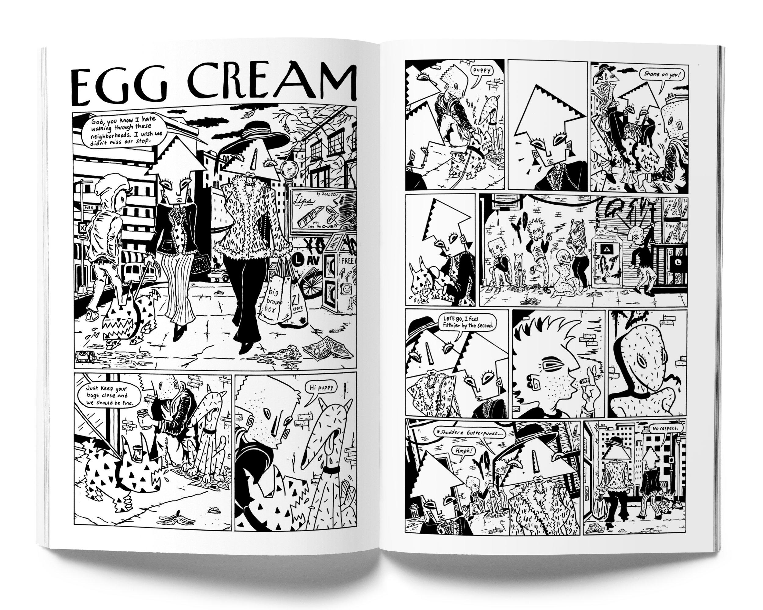 Sam Grinberg   for Universal Slime Issue #4