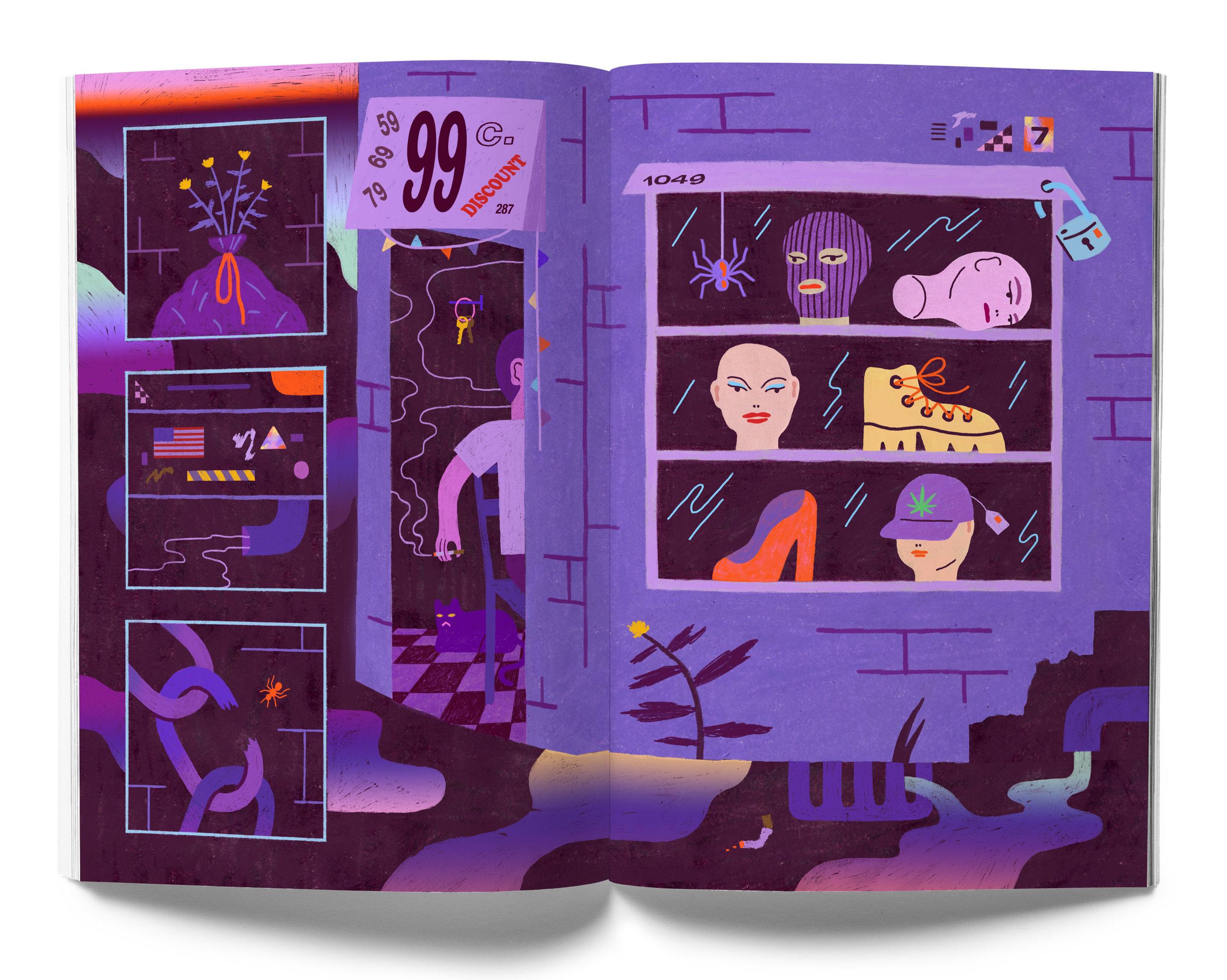 Ariel Davis  for Universal Slime Issue #5
