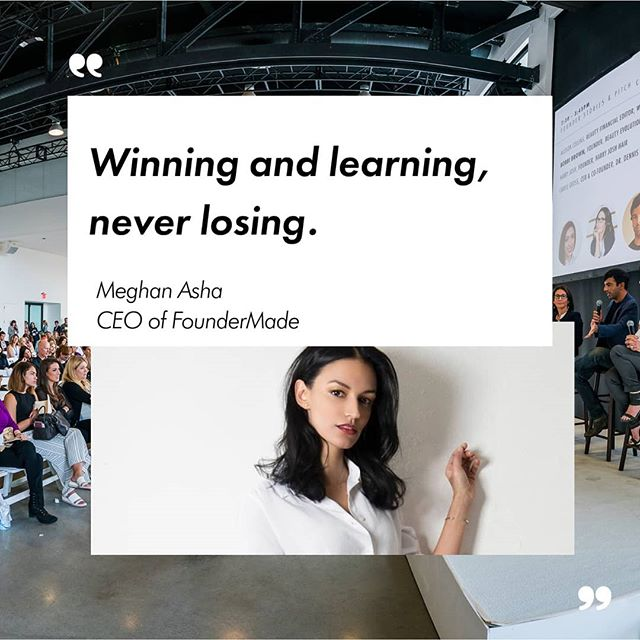 FounderMade's Founder @MeghanAsha believes #entrepreneurs with purpose-driven, innovative businesses are going to completely reshape the consumer product industry.