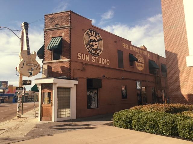 The legendary Sun Studio!