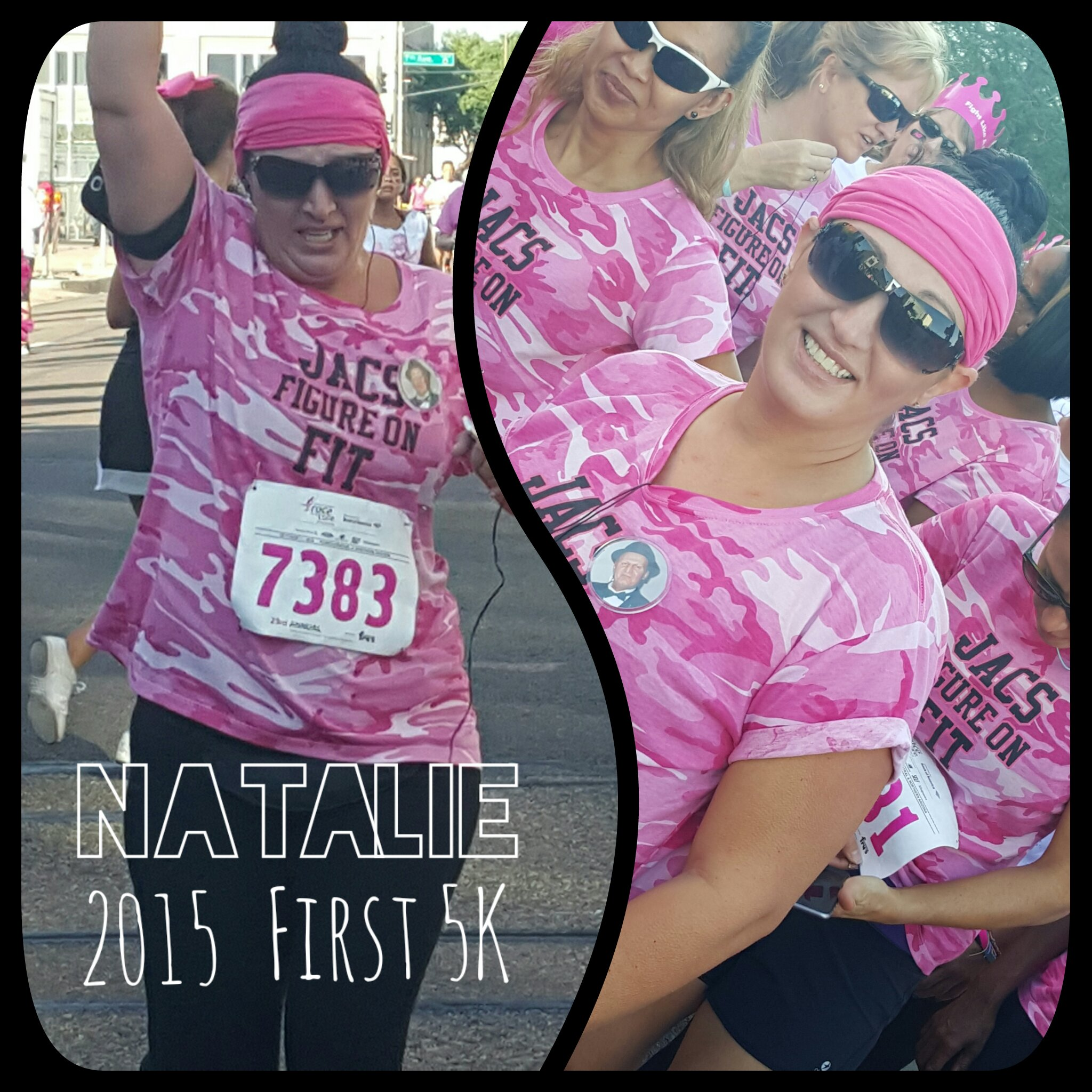 Natalie McGrory: Susan G. Komen Race for the Cure 2015