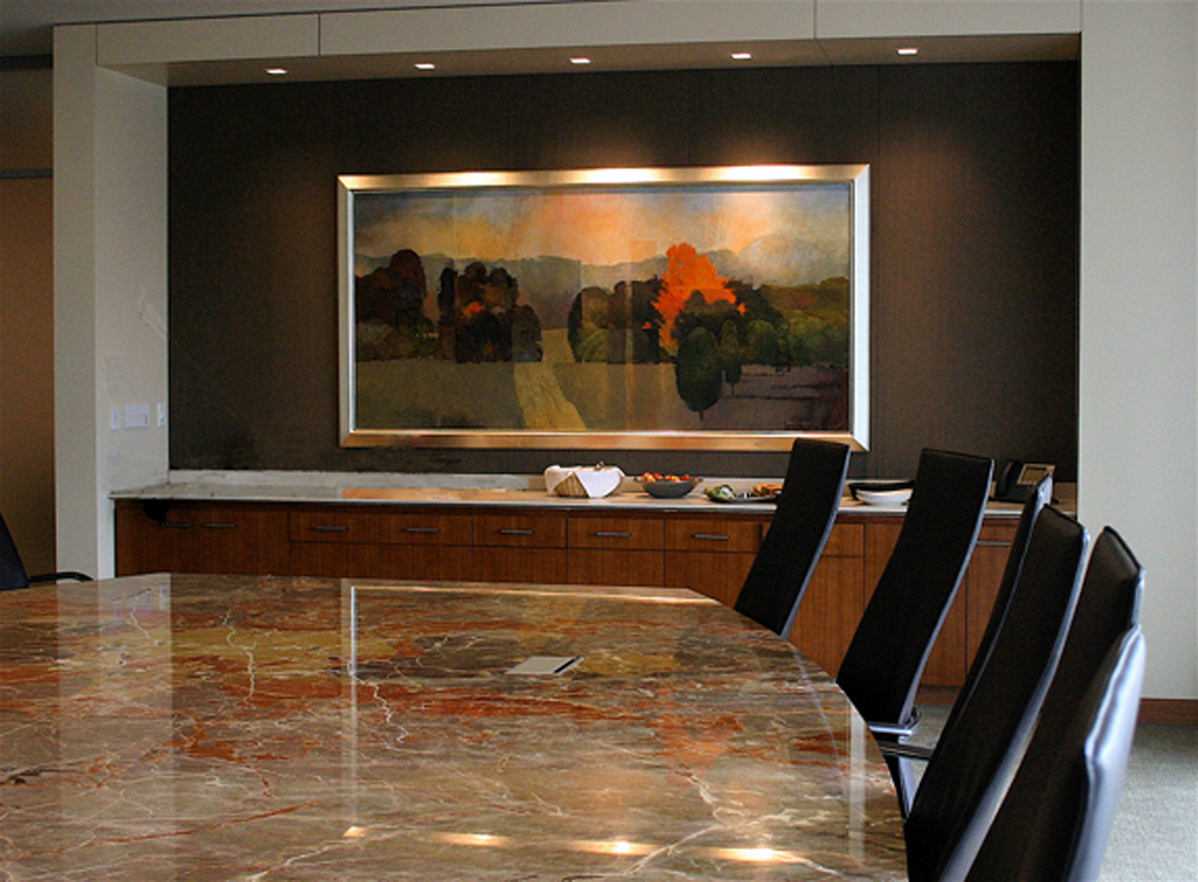 Law offices boardroom