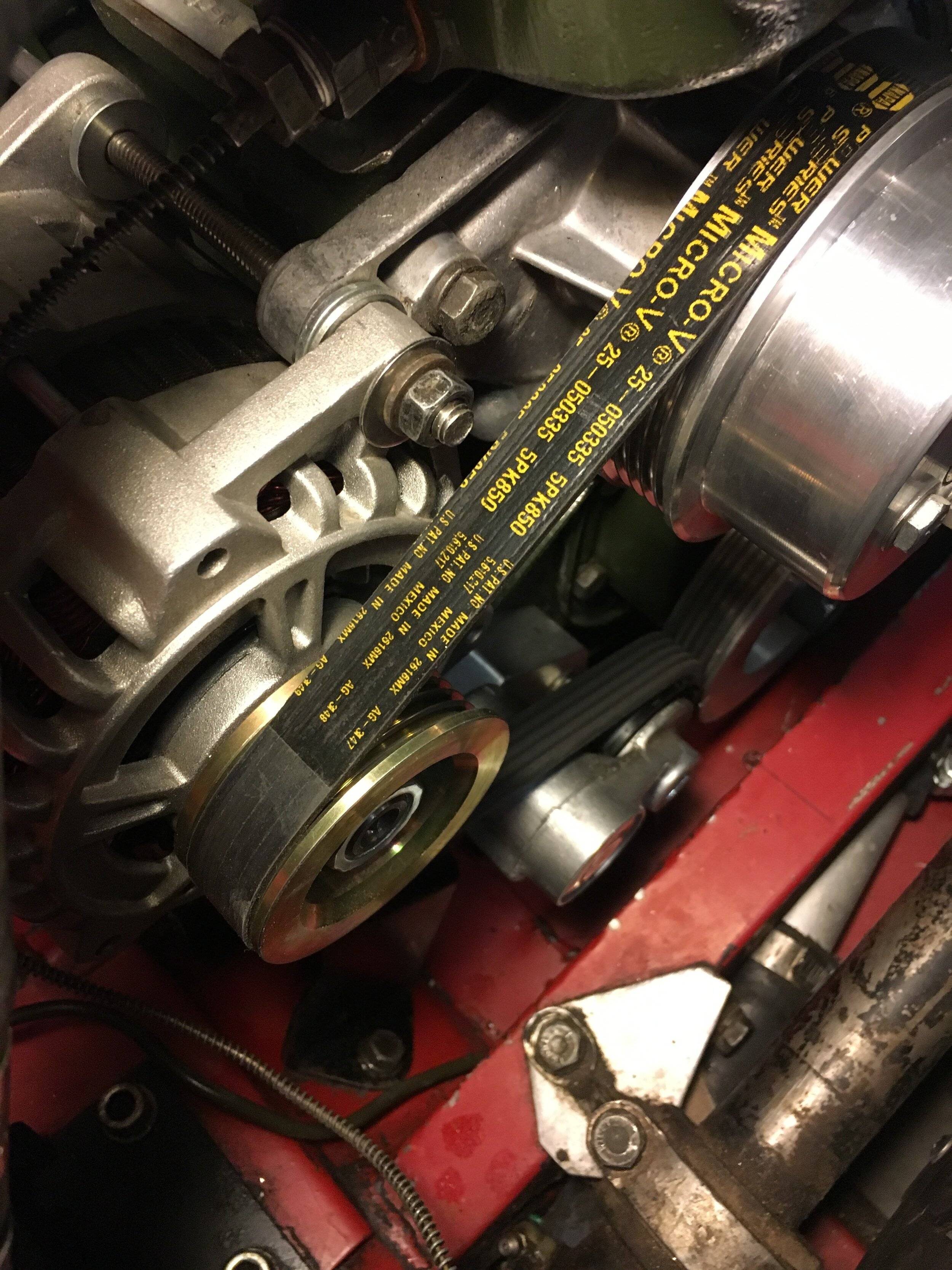 Installing Supercharger — Creative Spridgets