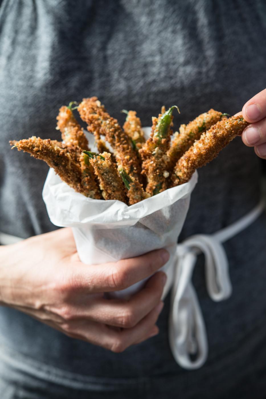 PCC Community Markets - Parmesan Green Bean Fries1.jpg