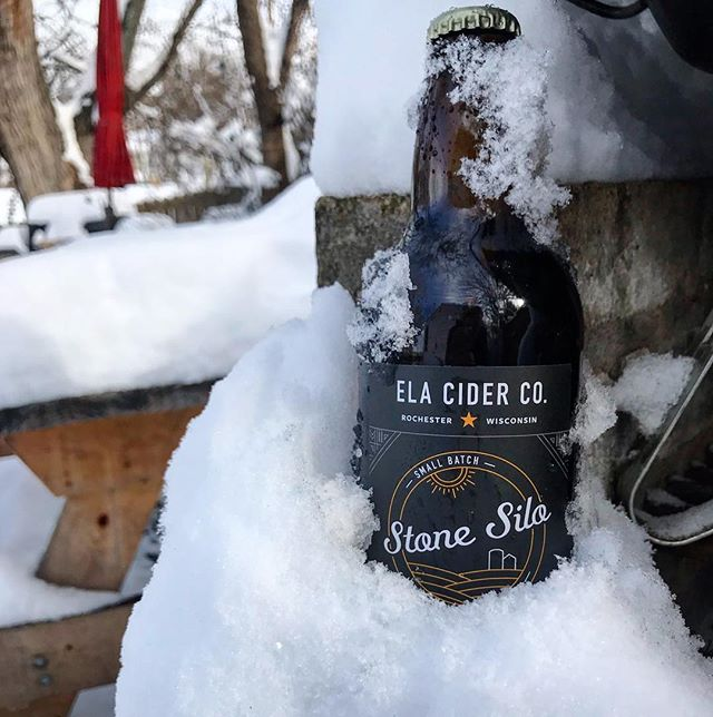 Naturally chilled Stone Silo is delicious. ❄️🍻