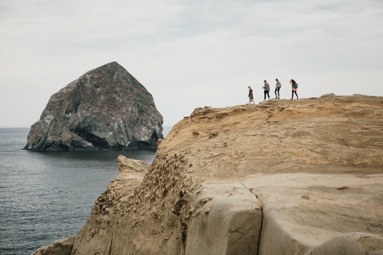 Cape Kiwanda hike Oregon