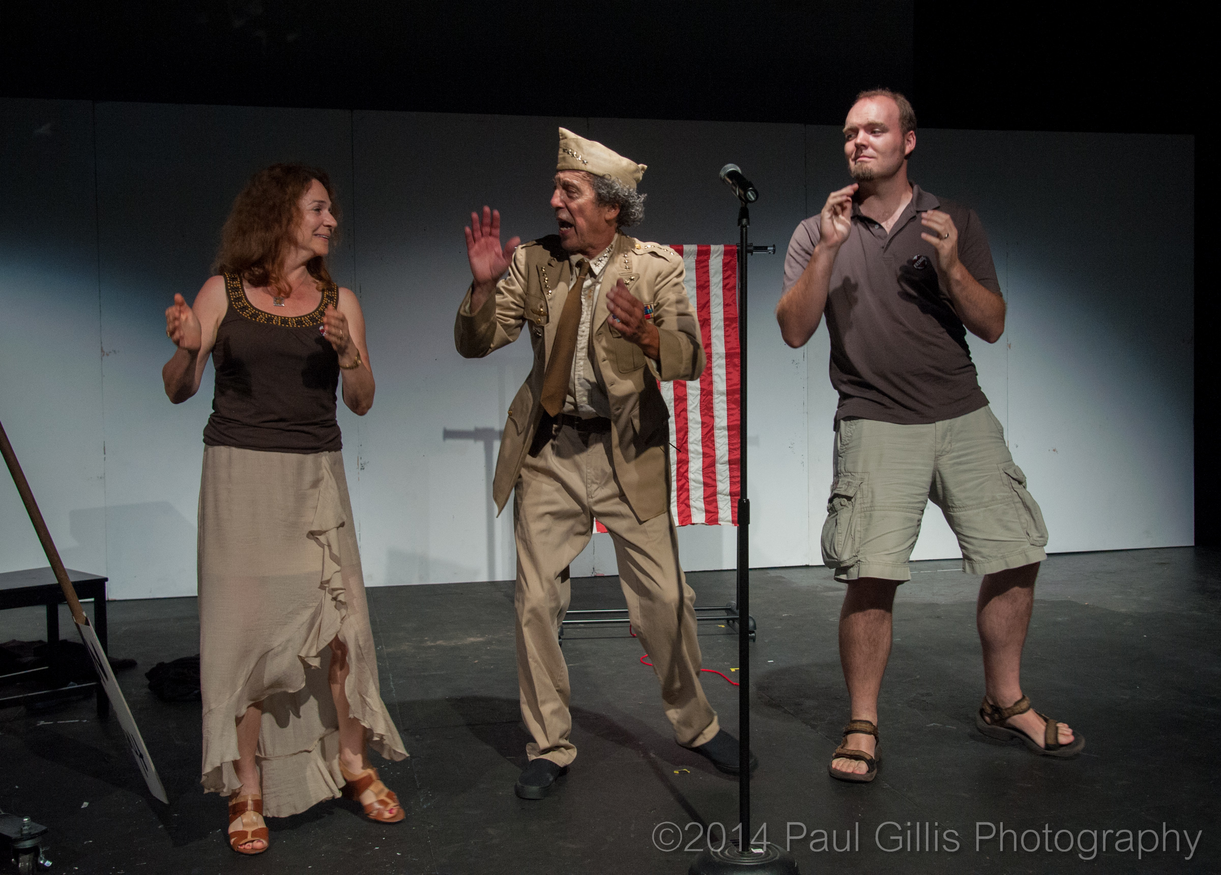 Gen Armstrong & Audience Members - Nuclear Proliferation Boogie.jpg