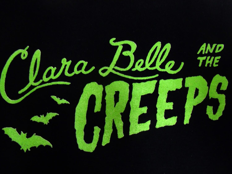 Clara Belle and The Creeps Logo