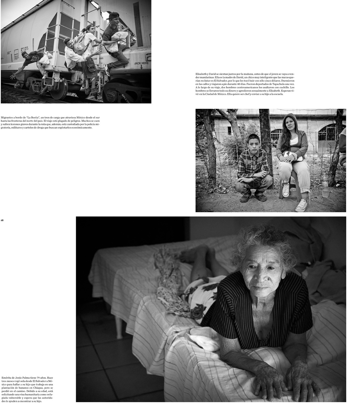 GatoPardo Magazine - Running to Nowhere: The Central American Refugee Crisis Pages 5 - 8