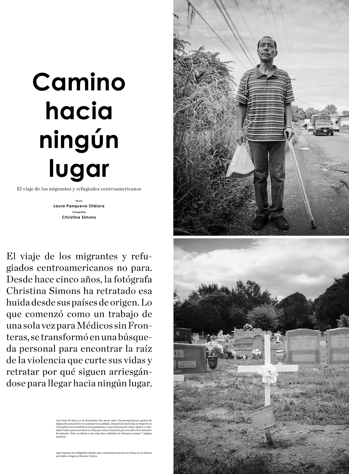 GatoPardo - Running to Nowhere: The Central American Refugee Crisis Pages 1-4
