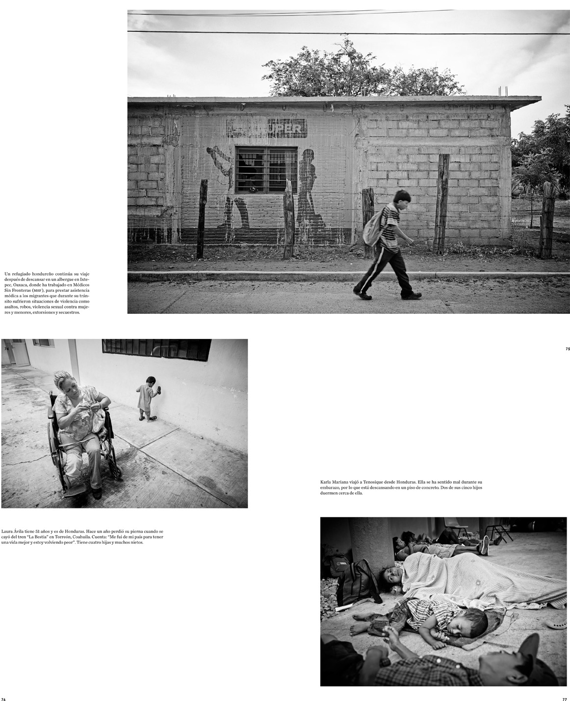 GatoPardo Magazine - Running to Nowhere: The Central American Refugee Crisis Pages 11 - 14