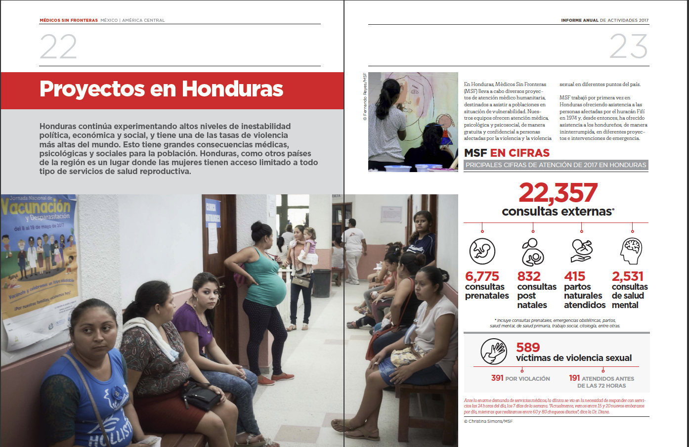 MSF (Medicos Sin Fronteras) 2017 Annual Report of Activities - P2