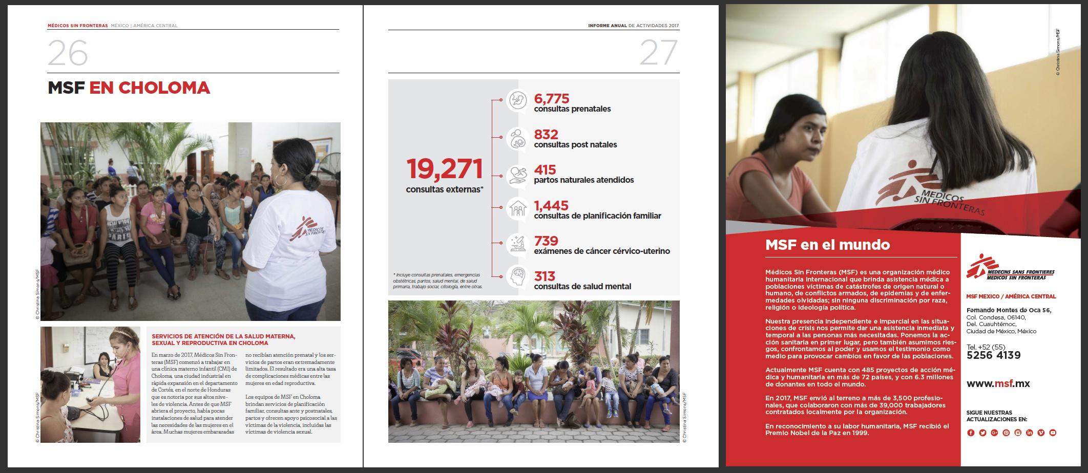 MSF (Medicos Sin Fronteras) 2017 Annual Report of Activities - P4