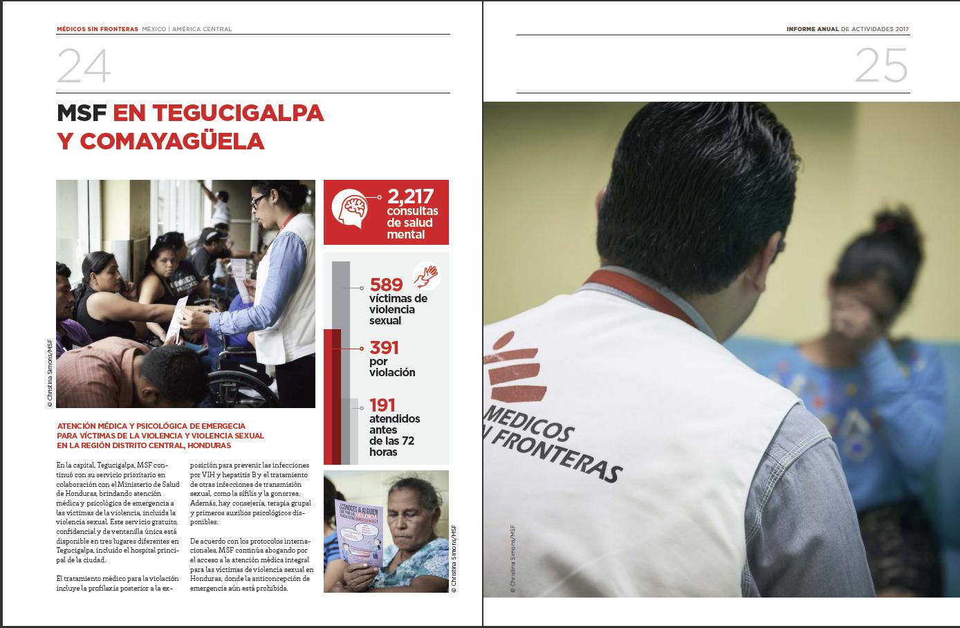 MSF (Medicos Sin Fronteras) 2017 Annual Report of Activities - P3