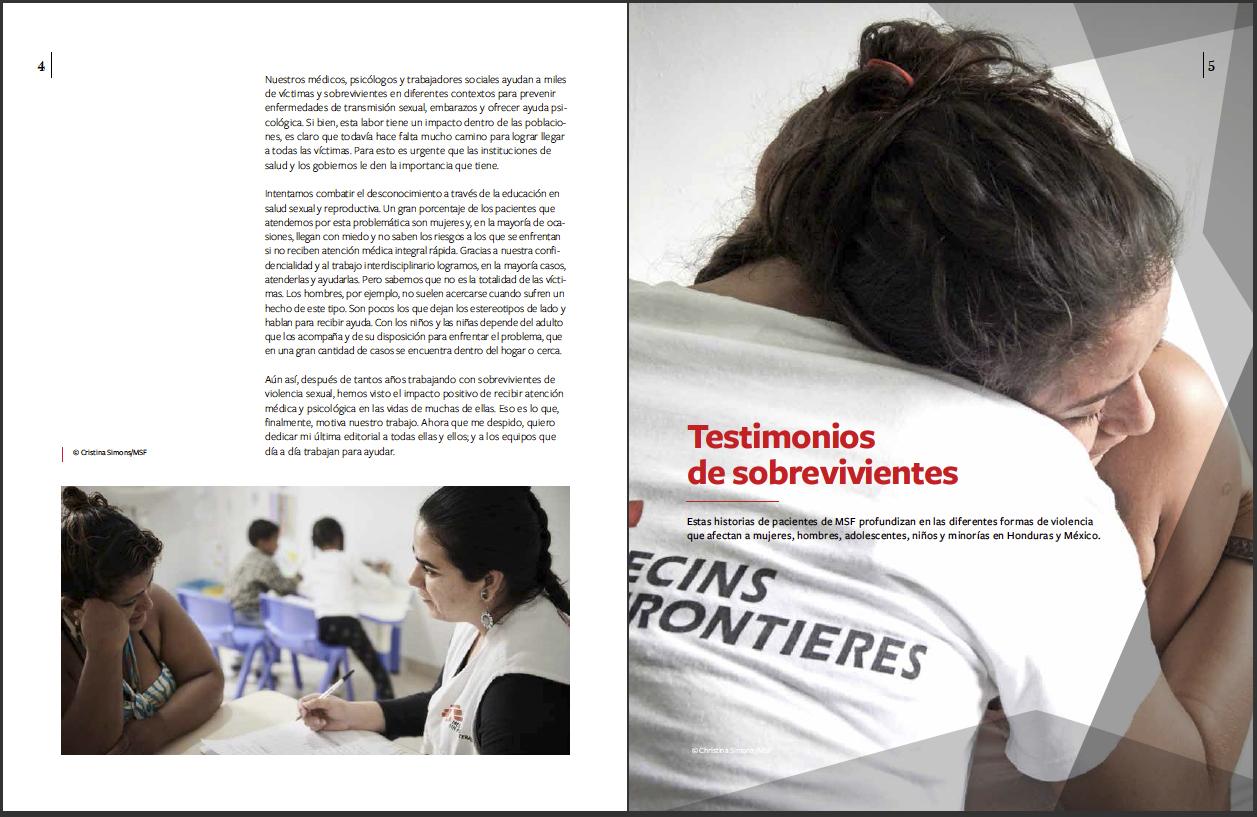 Reacciones Magazine - MSF Mexico - March 2019 - P2