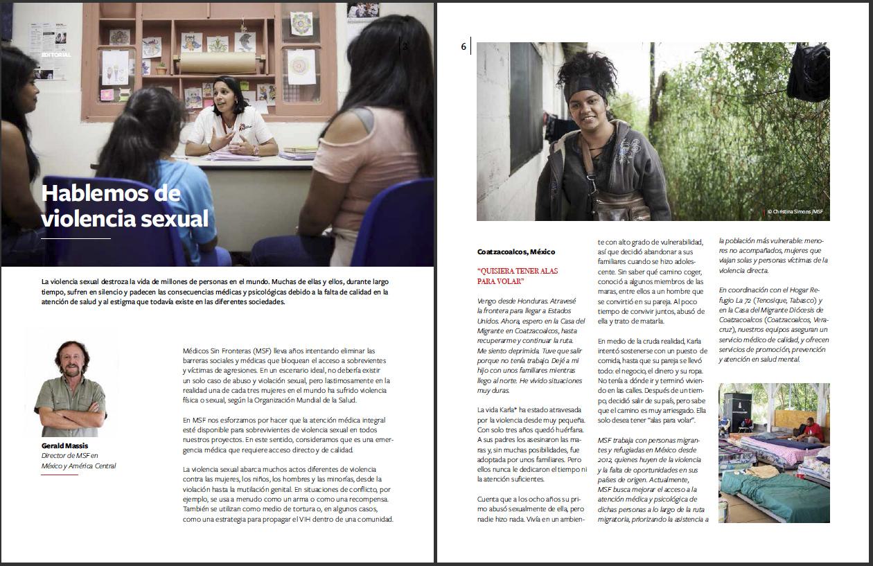 Reacciones Magazine - MSF Mexico - March 2019 - P1