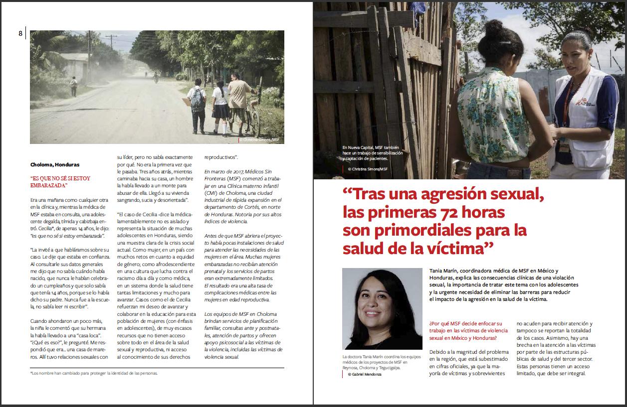 Reacciones Magazine - MSF Mexico - March 2019 - P3