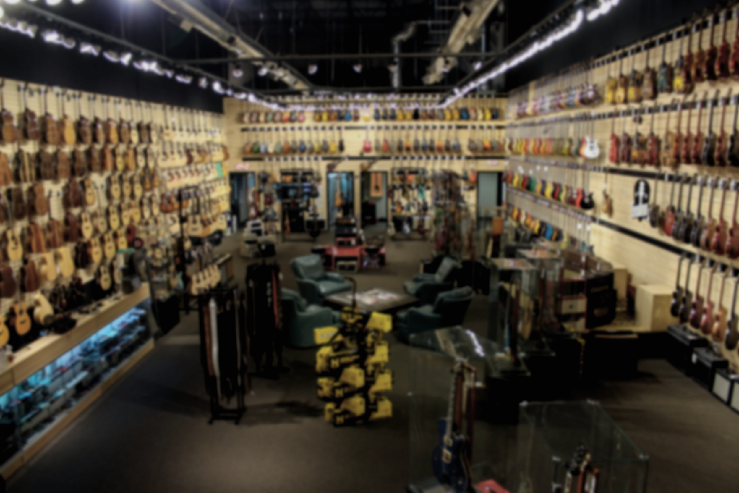 Righteous Guitars: Open Tuesday through Saturday 10am - 6pm