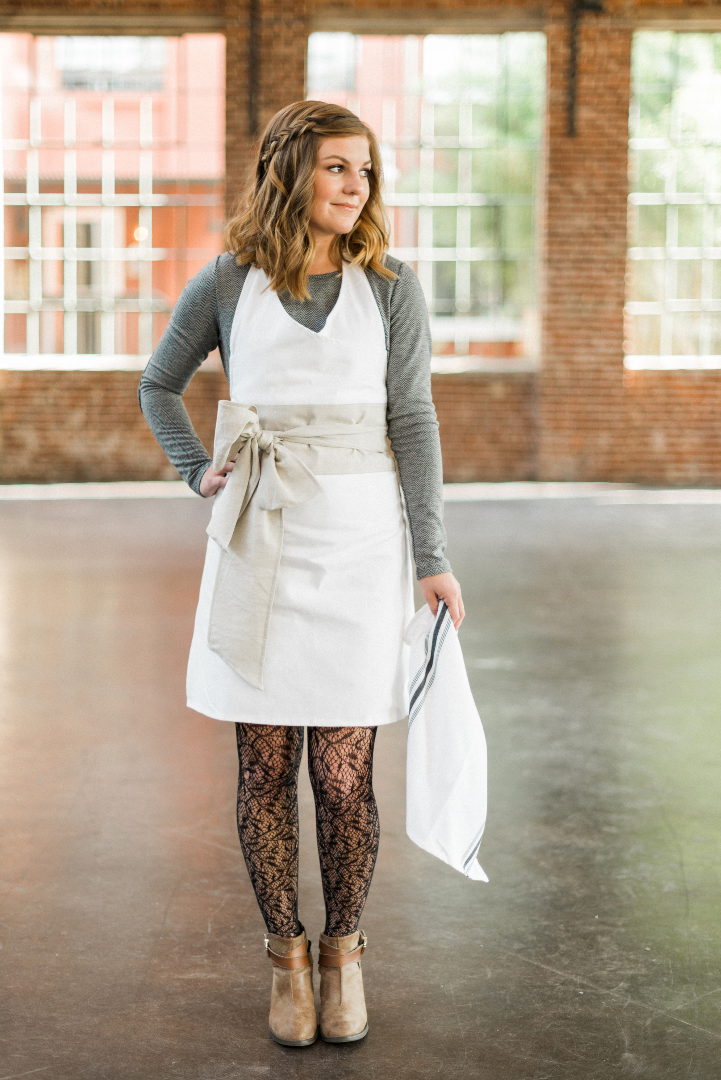 Tea Towel by Homespun ATL+ Harvest Dinner Inspiration   Photo by Rustic White Photography