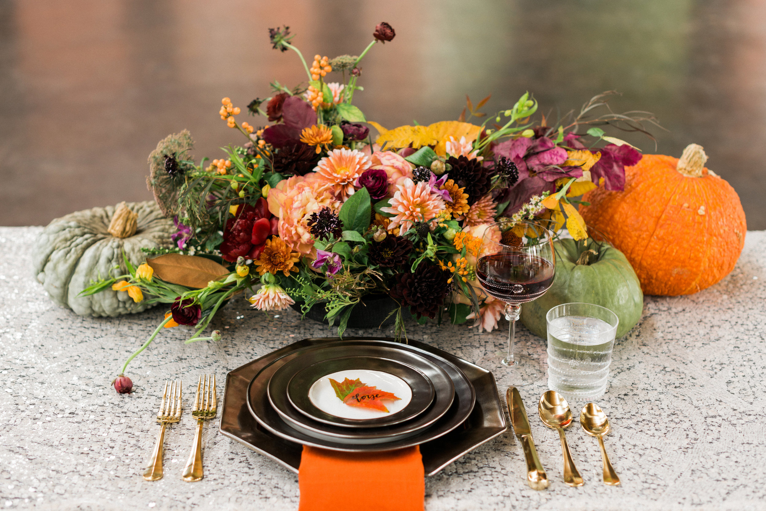 Harvest Gathering Table Inspiration | Photo by Rustic White Photography