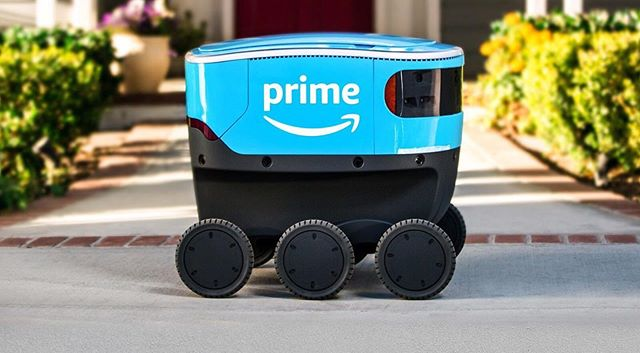 "💻•TECH TUESDAY•💻 -Amazon's self-driving delivery robots are coming to California- ""NEW YORK – Amazon's self-driving robots will be roaming the streets of another neighborhood. The online shopping giant said Tuesday that the six-wheeled robots, about the size of a smaller cooler, will begin delivering packages to customers in Irvine, California. It comes after Amazon began testing them in a suburb of Seattle at the beginning of the year...."" Read more at: https://www.usatoday.com/story/tech/2019/08/06/amazon-self-driving-delivery-robot-scout-comes-irvine-california/1935200001/ • • • #starkville #starkvillems #shopstarkville #msstate #shoplocal #msu #godawgs"