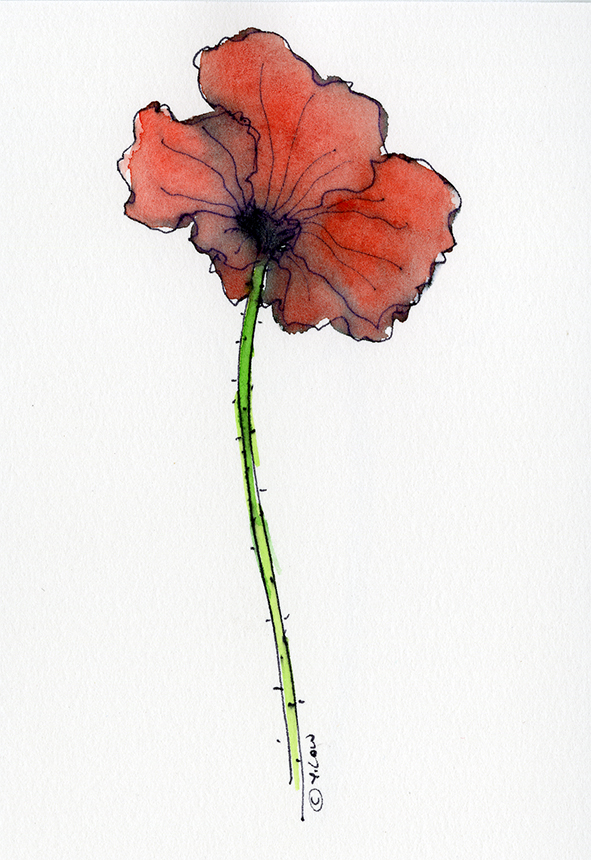 Red Poppy Remembrance Day YLow.jpg