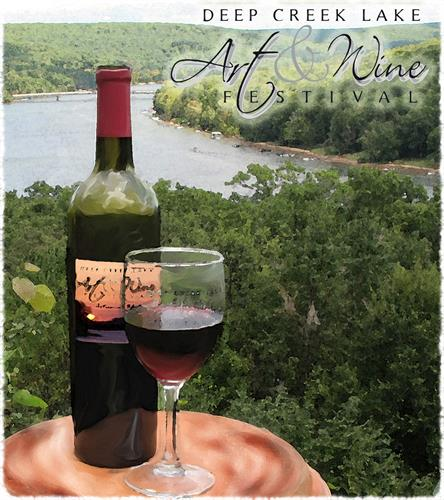 I can't wait to participate in this exciting event at my favorite getaway in the beautiful Maryland mountains... Come on down, enjoy some great wine, meet new friends, and nourish your soul with some beautiful fine art!